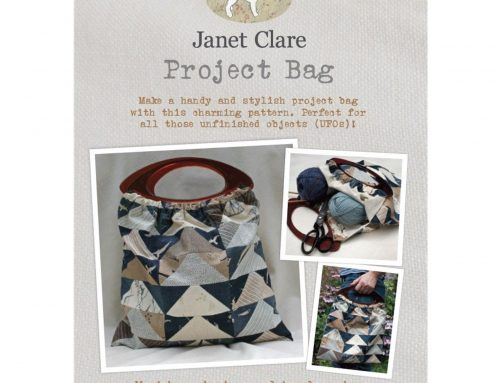 Subscriber Giveaway for October 2020: Project Bag Sewing Pattern by Janet Clare