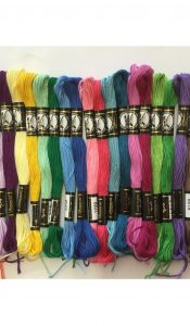 PRODUCT of the MONTH May 20: Rainbow Selection of 24 Presencia Finca threads